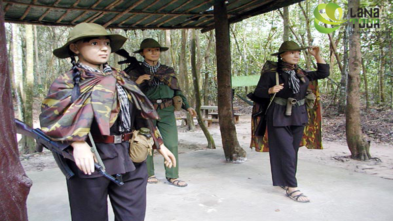 Cu Chi Tunnels Tour by Canoe
