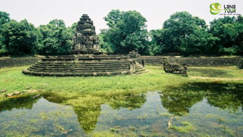 From Angkor temples to the river of a thousandling as